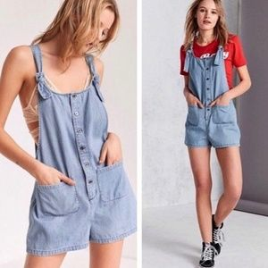 BDG Andy Chambray Romper